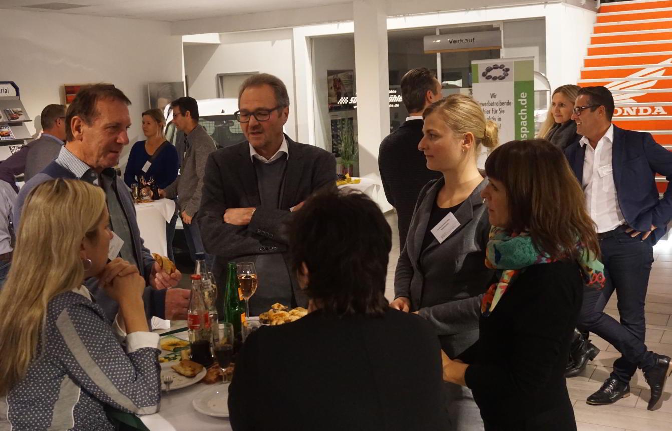 Unternehmer trifft Unternehmer im Autohaus Möhle Großaspach