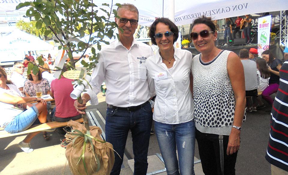 Der BDS Aspach gratuliert der Firma Streker Natursäfte